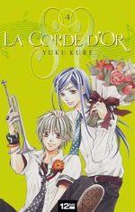 La Corde d'Or T.4 Manga