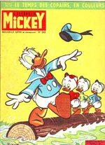 Le journal de Mickey 543 Magazine