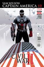 Sam Wilson - Captain America # 10