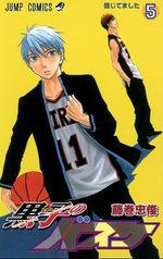 Kuroko's Basket 5 Manga
