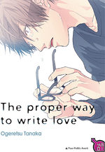 The proper way to write love Manga