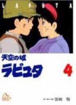 Le Château dans le Ciel 4 Anime comics