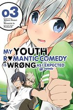 My Teen Romantic Comedy is wrong as I expected 3