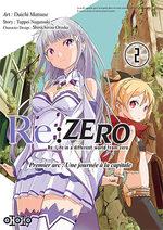 couverture, jaquette Re:Zero - Re:Life in a different world from zero - Premier arc : Une journée à la capitale 2