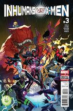 Inhumans Vs. X-Men 3