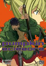 Pumpkin Scissors 4 Manga