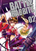 couverture, jaquette Battle Rabbits 2