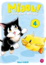 MIAOU ! Le quotidien de Moustic 4 Manga