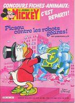 Le journal de Mickey 1627 Magazine