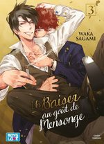 Un baiser au goût de mensonge 3 Manga