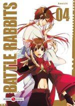 couverture, jaquette Battle Rabbits 4