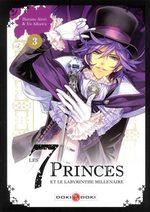 Les 7 princes et le labyrinthe millénaire 3 Manga