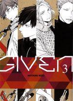 Given 3 Manga