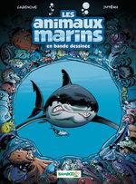 Les animaux marins en bande dessinée 1