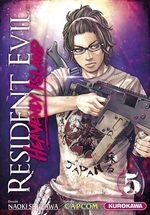 couverture, jaquette Resident Evil - Heavenly island 5