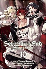 couverture, jaquette Seraph of the end 10