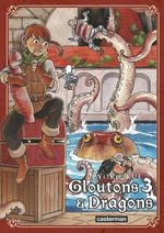 Gloutons & Dragons 3 Manga