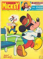 Le journal de Mickey 944 Magazine