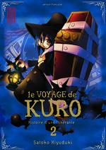 couverture, jaquette Le Voyage de Kuro 2