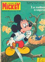 Le journal de Mickey 922 Magazine