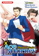 Ace Attorney Phoenix Wright T.2 Manga