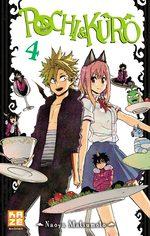 Pochi & Kuro T.4 Manga