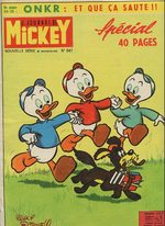 Le journal de Mickey 641 Magazine