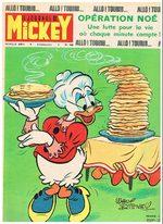 Le journal de Mickey 1025 Magazine