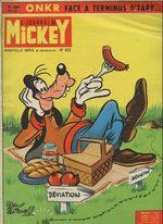 Le journal de Mickey 635 Magazine