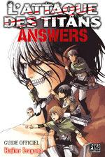L'Attaque des Titans Answers 1 Fanbook