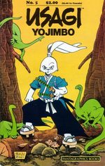 Usagi Yojimbo 5 Comics
