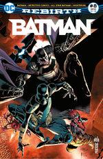 Batman Rebirth # 8