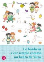 Le bonheur c'est simple comme un bento de Yuzu T.2 Manga