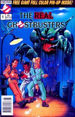 The Real Ghostbusters 1 Comics