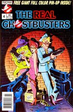 The Real Ghostbusters 4 Comics