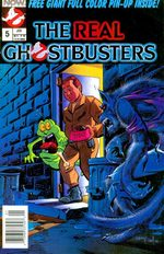 The Real Ghostbusters 5 Comics
