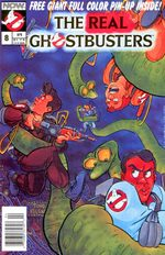 The Real Ghostbusters 8 Comics
