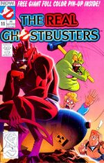 The Real Ghostbusters 11 Comics