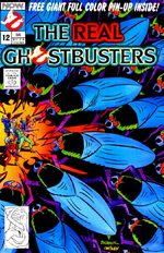 The Real Ghostbusters 12 Comics
