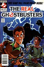 The Real Ghostbusters 13 Comics