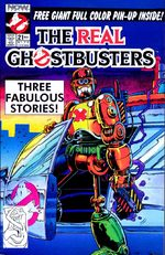 The Real Ghostbusters 21 Comics