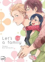 Let's be a family Manga