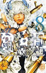 couverture, jaquette Platinum End 8