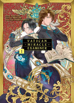couverture, jaquette Vatican Miracle Examiner 1
