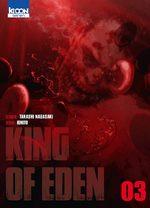 couverture, jaquette King of Eden 3