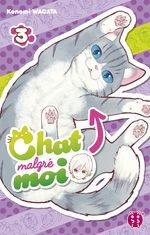 Chat malgré moi 3 Manga