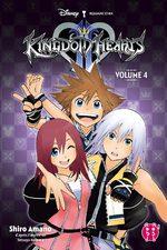 Kingdom Hearts II 4 Manga