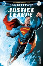 Justice League Rebirth 12