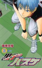 Kuroko's Basket 6 Manga