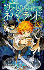 The promised Neverland 8 Manga